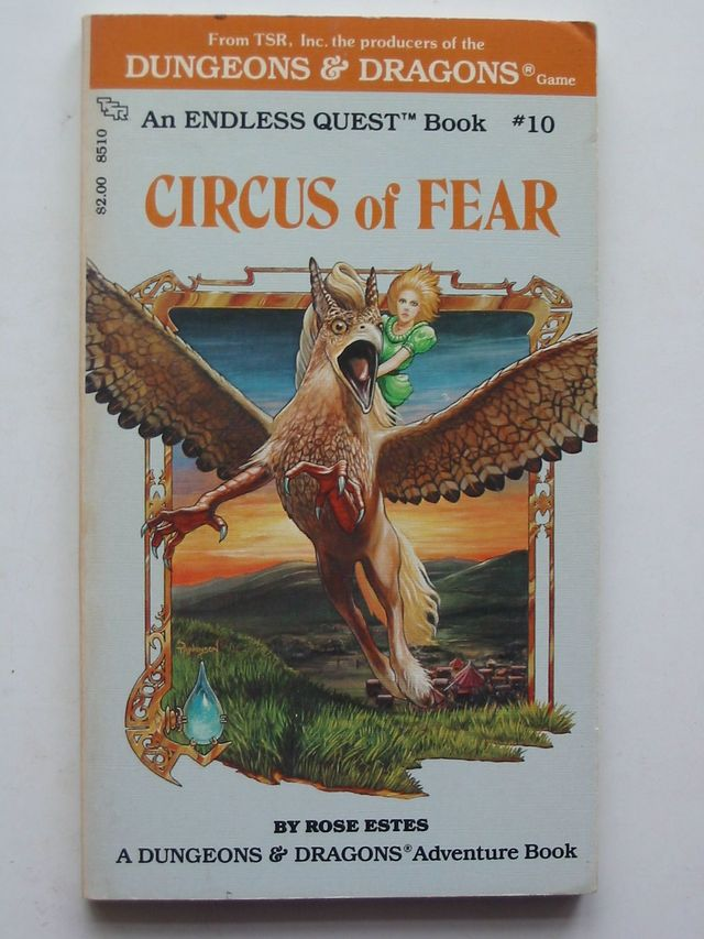 Photo of CIRCUS OF FEAR written by Estes, Rose illustrated by Parkinson, Keith<br />Nicholas, Kevin published by Tsr Inc (STOCK CODE: 1101185)  for sale by Stella & Rose's Books