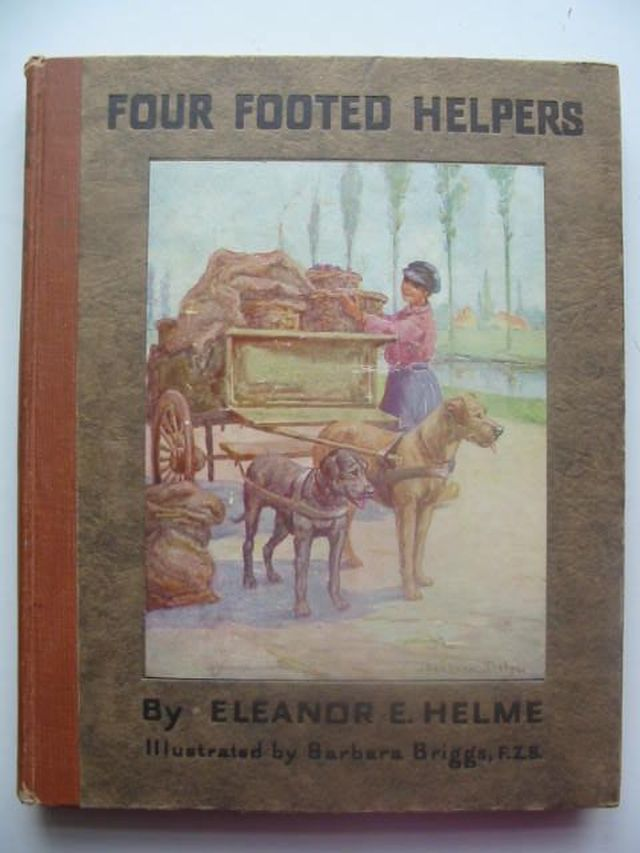 Photo of FOUR-FOOTED HELPERS written by Helme, Eleanor illustrated by Briggs, Barbara published by The Religious Tract Society (STOCK CODE: 1102894)  for sale by Stella & Rose's Books