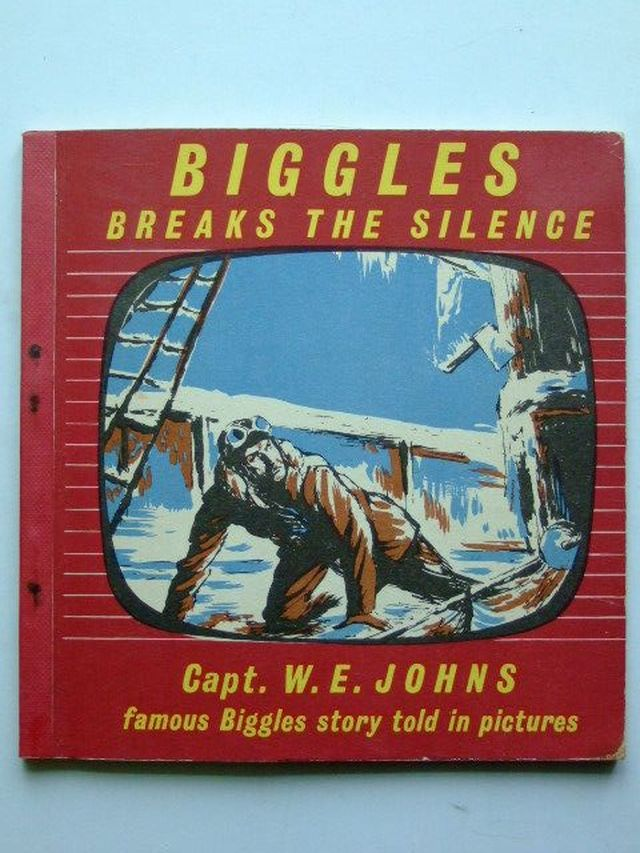 Photo of BIGGLES BREAKS THE SILENCE written by Johns, W.E. illustrated by Kay,  published by The Brockhampton Press Ltd. (STOCK CODE: 1104390)  for sale by Stella & Rose's Books