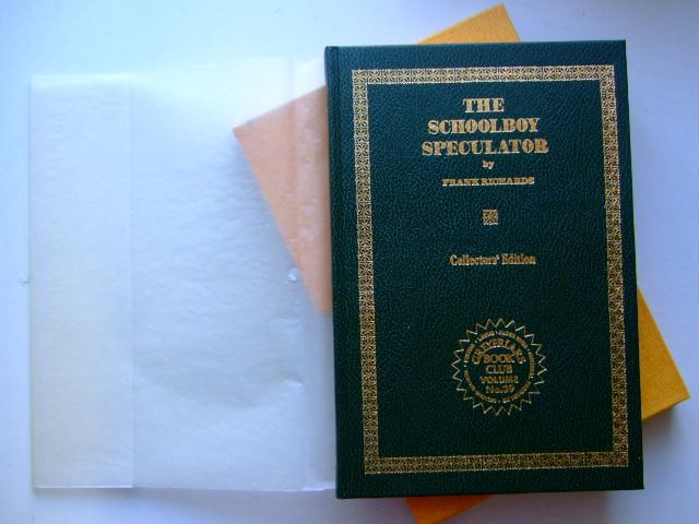 Photo of THE SCHOOLBOY SPECULATOR written by Richards, Frank published by Howard Baker Press (STOCK CODE: 1105314)  for sale by Stella & Rose's Books