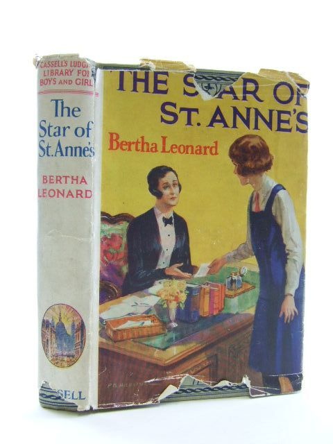 Photo of THE STAR OF ST. ANNE'S written by Leonard, Bertha published by Cassell & Company Ltd (STOCK CODE: 1106452)  for sale by Stella & Rose's Books