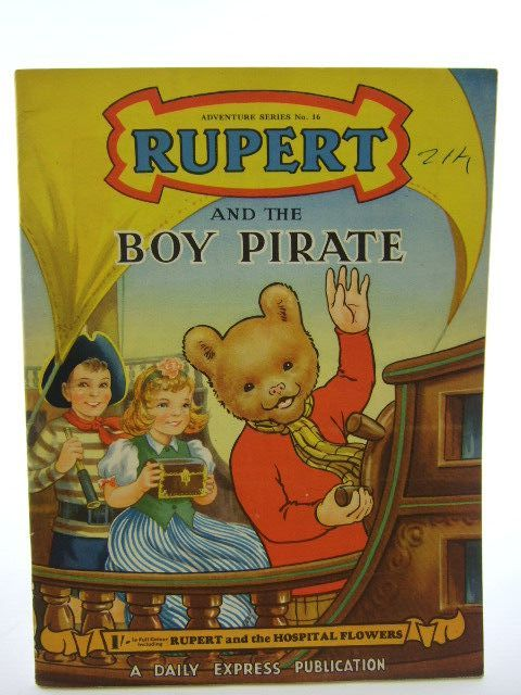 Photo of RUPERT ADVENTURE SERIES No. 16 - RUPERT AND THE BOY PIRATE written by Bestall, Alfred published by Daily Express (STOCK CODE: 1106830)  for sale by Stella & Rose's Books
