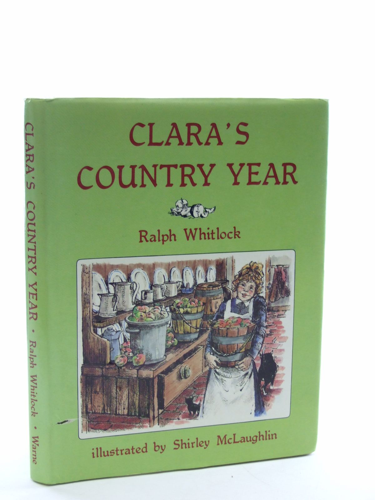Photo of CLARA'S COUNTRY YEAR written by Whitlock, Ralph illustrated by McLaughlin, Shirley published by Frederick Warne (STOCK CODE: 1107041)  for sale by Stella & Rose's Books