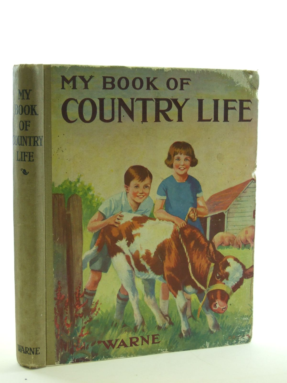 Photo of MY BOOK OF COUNTRY LIFE illustrated by Butler, B. published by Frederick Warne & Co Ltd. (STOCK CODE: 1107052)  for sale by Stella & Rose's Books