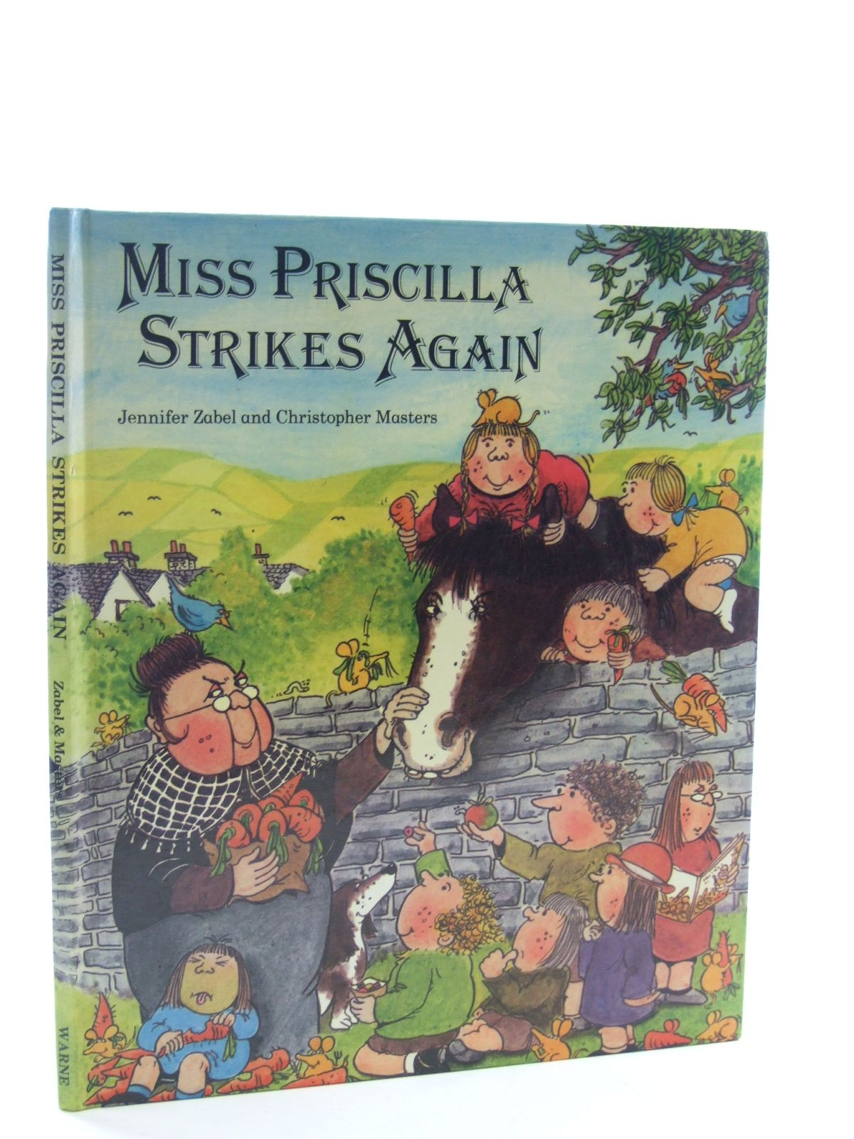 Photo of MISS PRISCILLA STRIKES AGAIN written by Zabel, Jennifer illustrated by Masters, Christopher published by Frederick Warne (STOCK CODE: 1107077)  for sale by Stella & Rose's Books