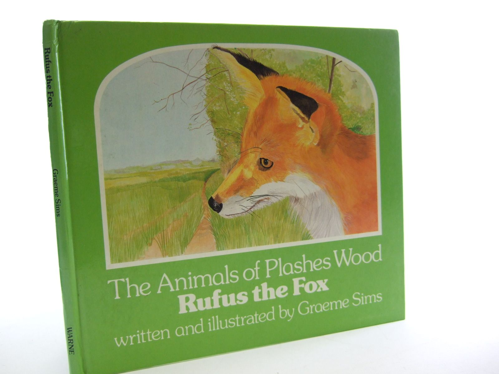 Photo of RUFUS THE FOX written by Sims, Graeme illustrated by Sims, Graeme published by Frederick Warne (Publishers) Ltd. (STOCK CODE: 1107205)  for sale by Stella & Rose's Books