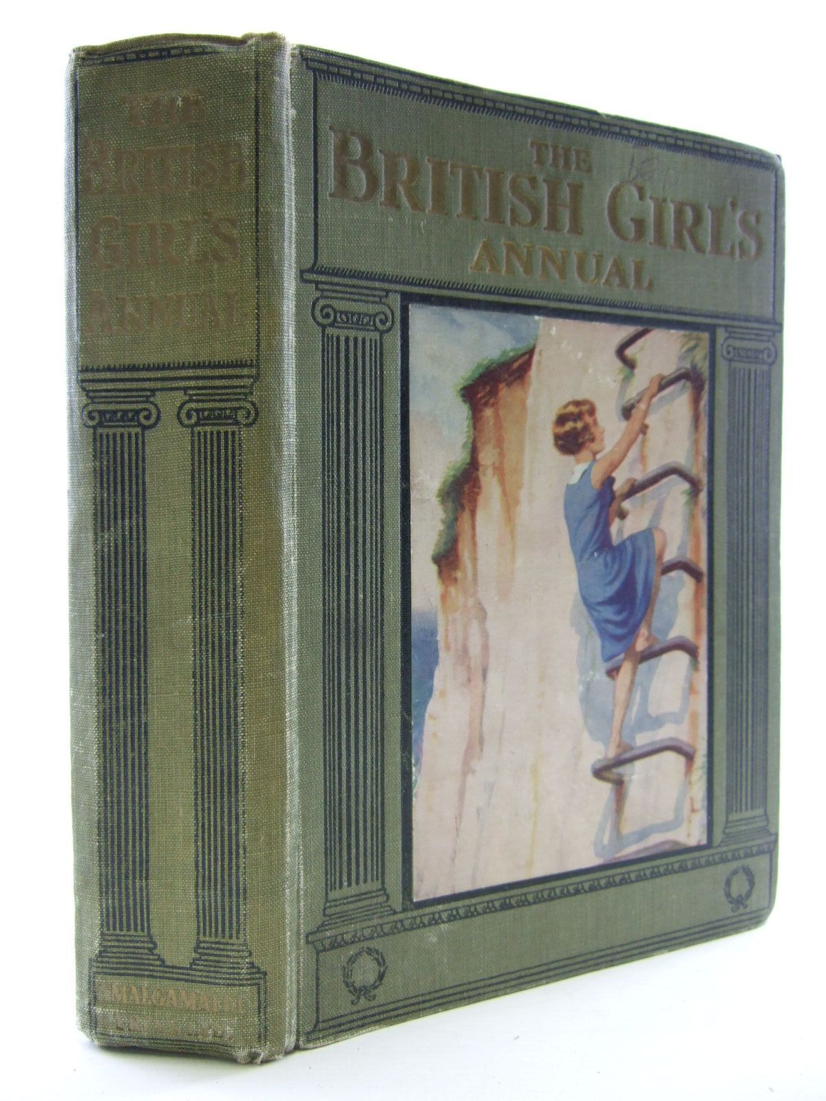 Photo of THE BRITISH GIRL'S ANNUAL written by Shepstone, Harold J.<br />Leonard, Bertha<br />Cowper, E.E.<br />Wynne, May<br />Girvin, Brenda<br />et al,  published by The Amalgamated Press (STOCK CODE: 1107534)  for sale by Stella & Rose's Books