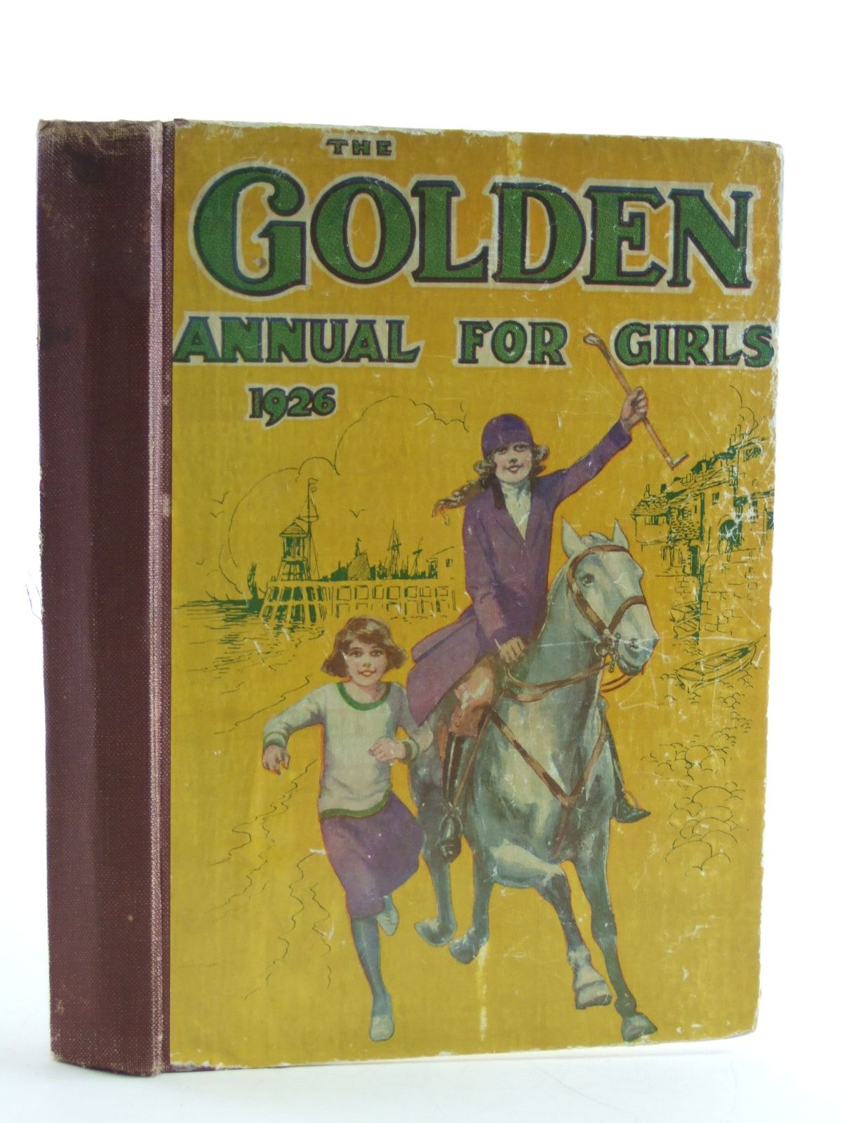 Photo of THE GOLDEN ANNUAL FOR GIRLS 1926 published by The Fleetway House (STOCK CODE: 1107754)  for sale by Stella & Rose's Books