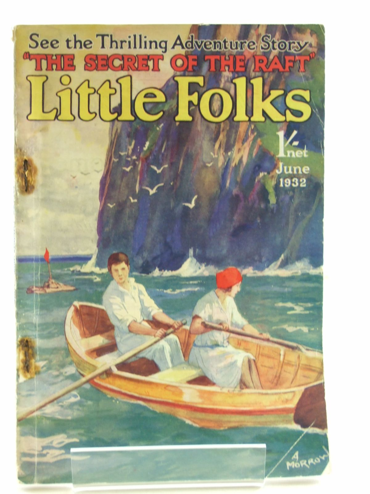 Photo of LITTLE FOLKS JUNE 1932 written by Williams, Eveline M.<br />et al,  published by The Amalgamated Press (STOCK CODE: 1108095)  for sale by Stella & Rose's Books