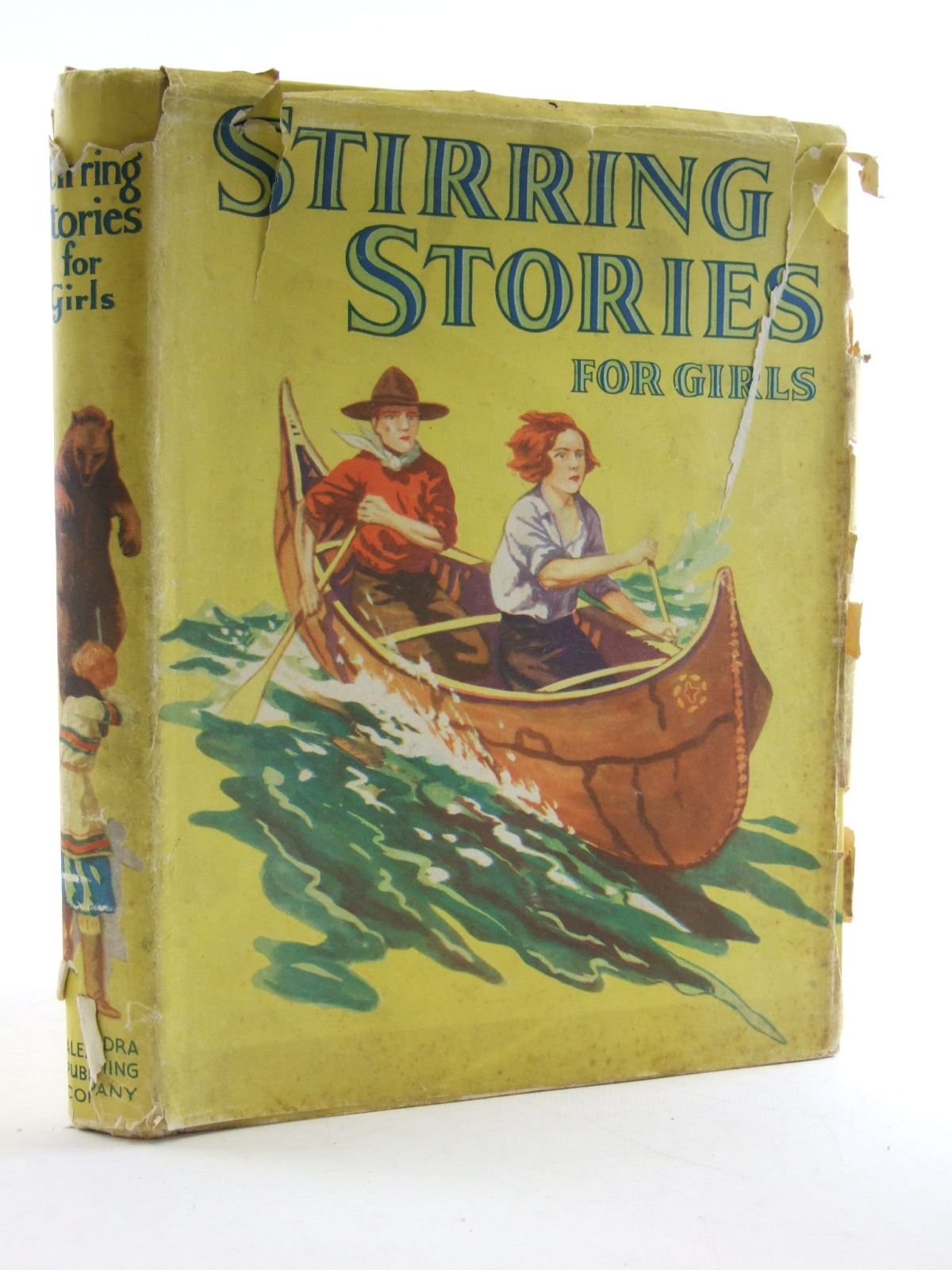 Photo of STIRRING STORIES FOR GIRLS written by Herbert, Charles illustrated by Pearse, Alfred<br />Sherman, F.J.<br />Shearlock, E.A. published by The Alexandra Publishing Company (STOCK CODE: 1108146)  for sale by Stella & Rose's Books