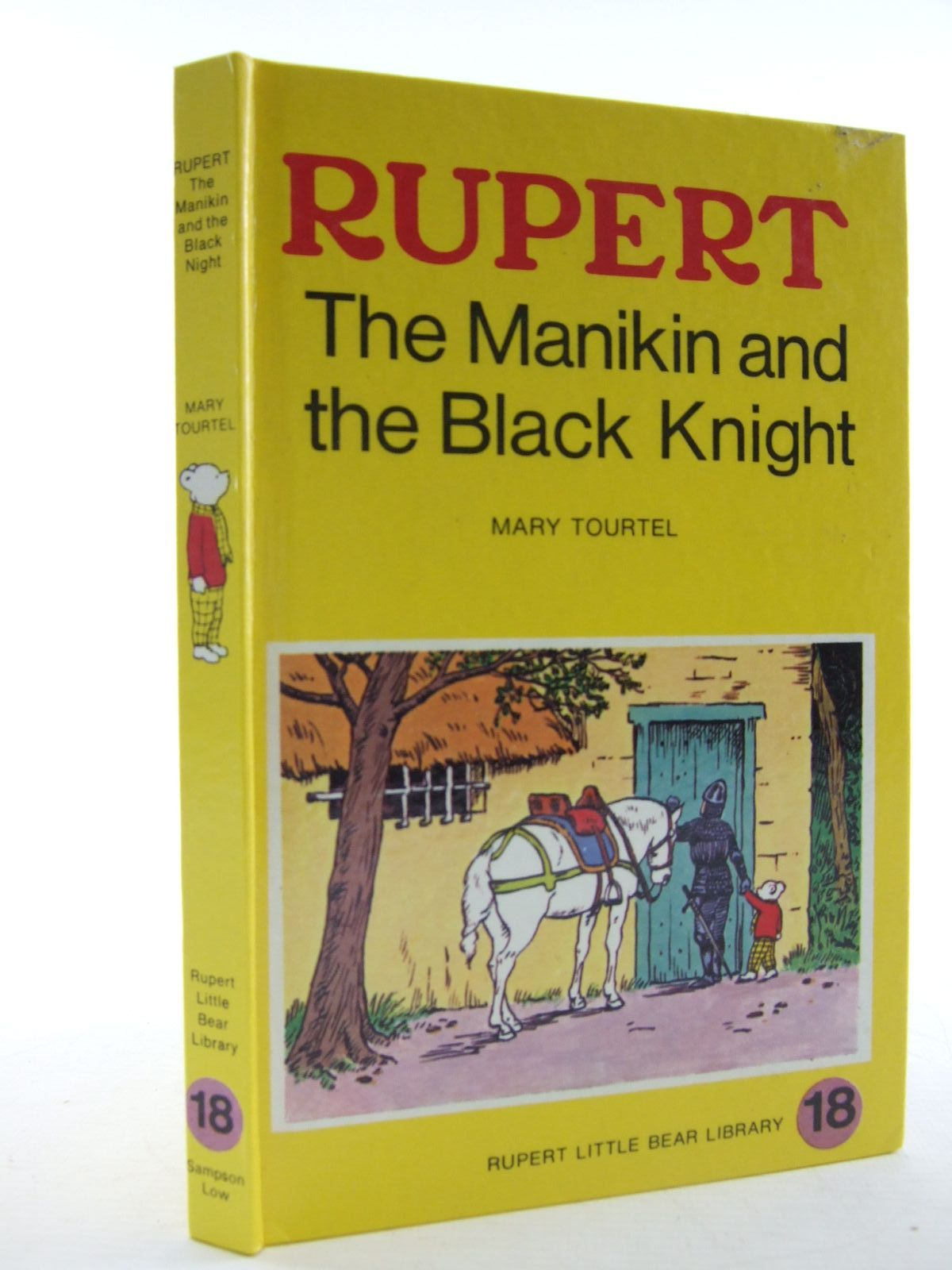 Photo of RUPERT, THE MANIKIN AND THE BLACK KNIGHT - RUPERT LITTLE BEAR LIBRARY No. 18 (WOOLWORTH) written by Tourtel, Mary illustrated by Tourtel, Mary published by Sampson Low, Marston & Co. Ltd. (STOCK CODE: 1108208)  for sale by Stella & Rose's Books