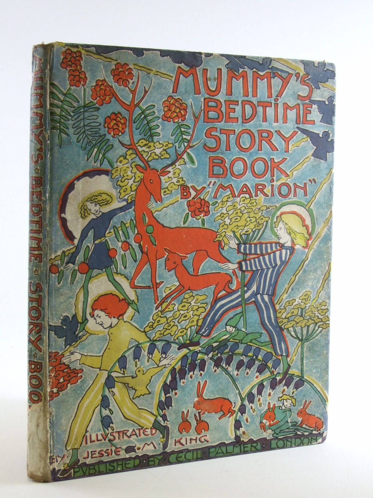 Photo of MUMMY'S BEDTIME STORY BOOK written by Marion,  illustrated by King, Jessie M. published by Cecil Palmer (STOCK CODE: 1108298)  for sale by Stella & Rose's Books