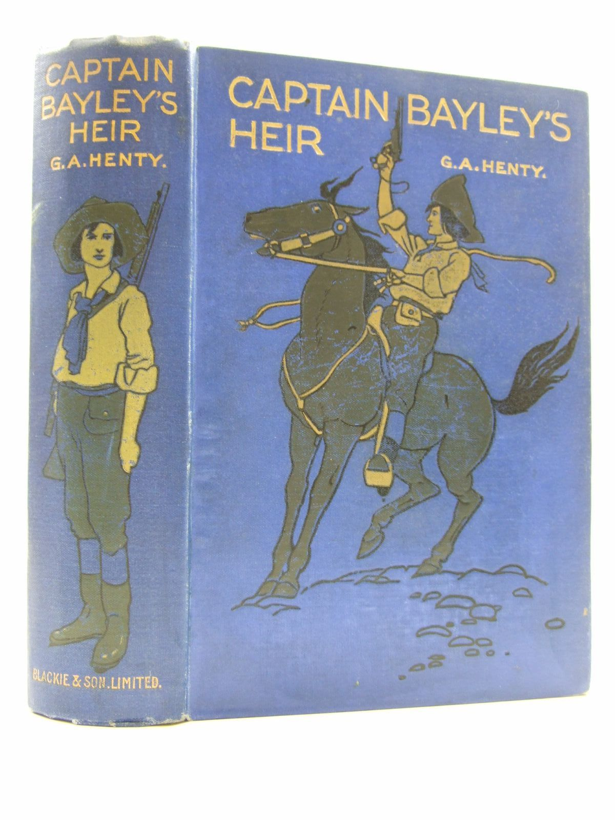Photo of CAPTAIN BAYLEY'S HEIR written by Henty, G.A. illustrated by Paget, H.M. published by Blackie & Son Ltd. (STOCK CODE: 1108335)  for sale by Stella & Rose's Books