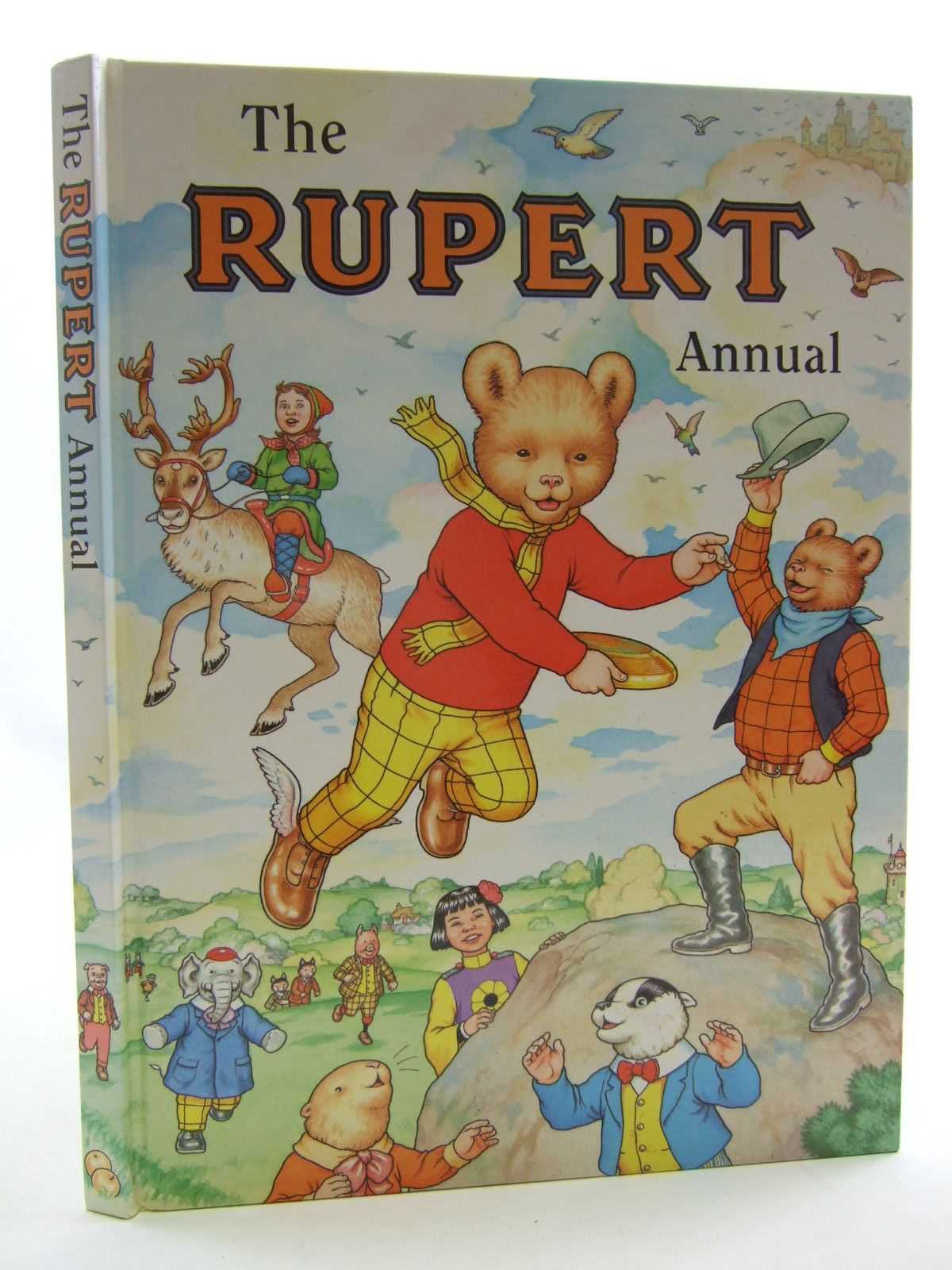 Photo of RUPERT ANNUAL 1999 written by Robinson, Ian illustrated by Harrold, John<br />Hart, Gina published by Pedigree Books Limited (STOCK CODE: 1108394)  for sale by Stella & Rose's Books
