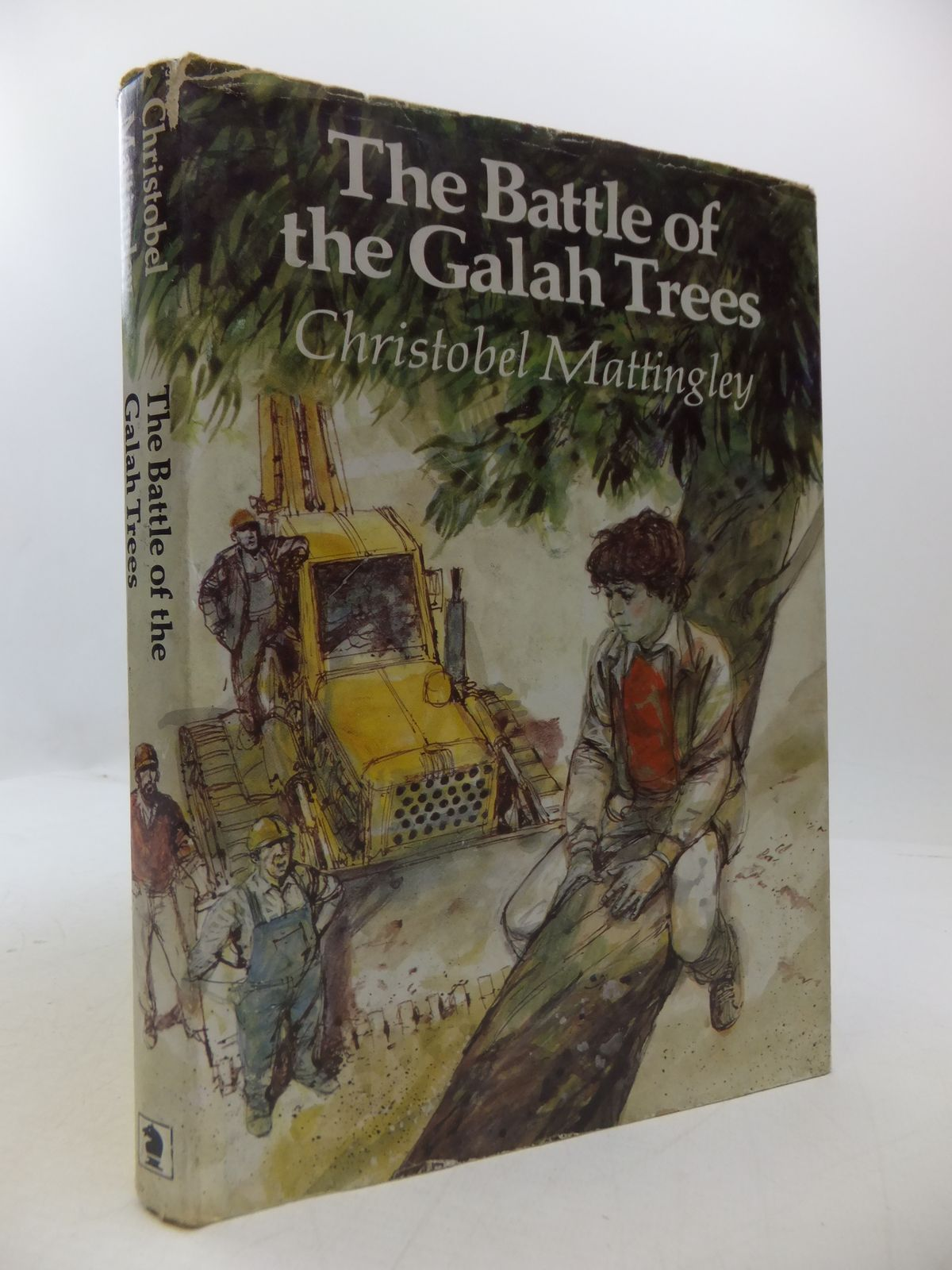 Photo of THE BATTLE OF THE GALAH TREES written by Mattingley, Christobel illustrated by Floyd, Gareth published by Brockhampton Press (STOCK CODE: 1108505)  for sale by Stella & Rose's Books