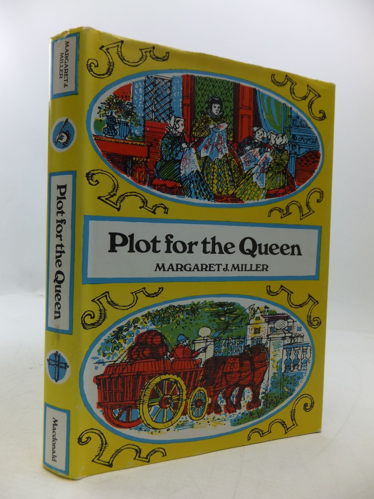 Photo of PLOT FOR THE QUEEN written by Miller, Margaret J. illustrated by Lawrence, John published by Macdonald & Co. (Publishers) Ltd. (STOCK CODE: 1108521)  for sale by Stella & Rose's Books