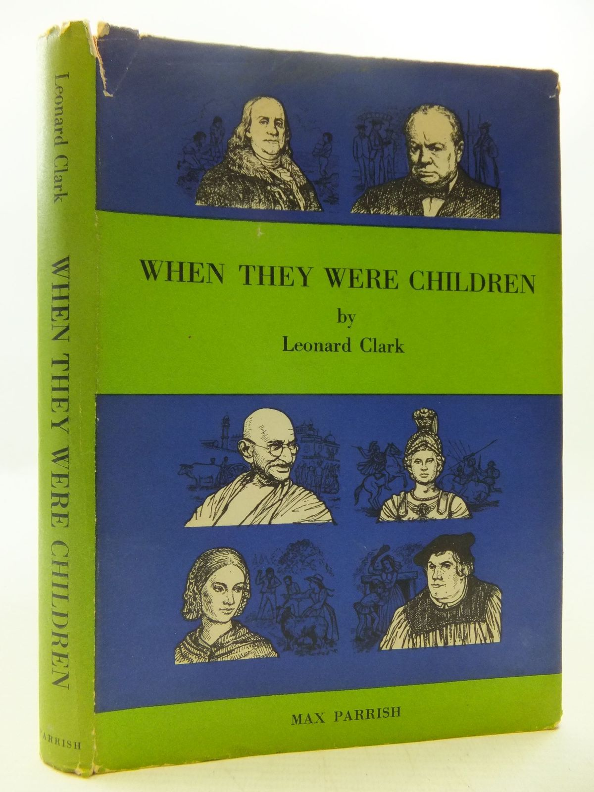 Photo of WHEN THEY WERE CHILDREN written by Clark, Leonard illustrated by Randell, William published by Max Parrish (STOCK CODE: 1108671)  for sale by Stella & Rose's Books