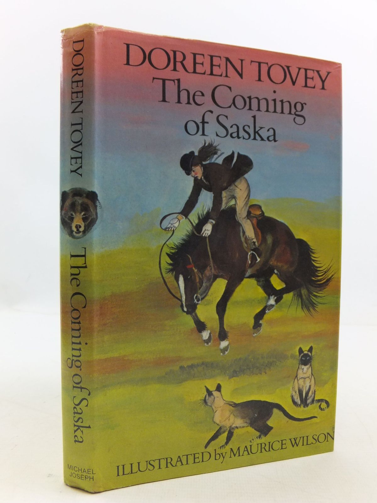 Photo of THE COMING OF SASKA written by Tovey, Doreen illustrated by Wilson, Maurice published by St. Martin's Press, New York (STOCK CODE: 1108781)  for sale by Stella & Rose's Books