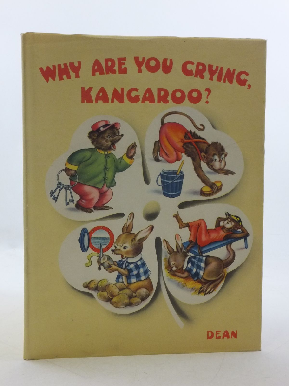Photo of WHY ARE YOU CRYING, KANGAROO? written by Monti, Jolanda Colombini illustrated by Mariapia,  published by Dean & Son Ltd. (STOCK CODE: 1108978)  for sale by Stella & Rose's Books