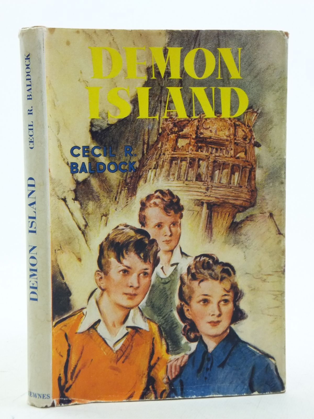 Photo of DEMON ISLAND written by Baldock, Cecil R. illustrated by Hamilton, W. Bryce published by George Newnes Limited (STOCK CODE: 1109087)  for sale by Stella & Rose's Books