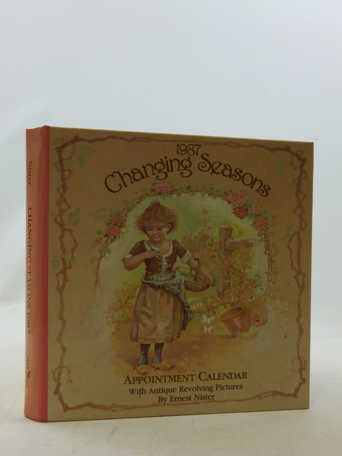 Photo of 1987 CHANGING SEASONS APPOINTMENT CALENDAR written by Nister, Ernest illustrated by Nister, Ernest published by Intervisual Communications Inc. (STOCK CODE: 1109281)  for sale by Stella & Rose's Books