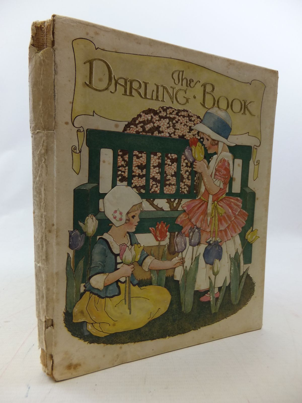 Photo of THE DARLING BOOK written by Joan, Natalie illustrated by Sowerby, Millicent published by Humphrey Milford, Oxford University Press (STOCK CODE: 1109461)  for sale by Stella & Rose's Books