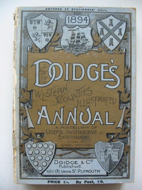 Photo of DOIDGE'S WESTERN COUNTIES ILLUSTRATED ANNUAL 1894 published by Doidge & Co (STOCK CODE: 1201036)  for sale by Stella & Rose's Books