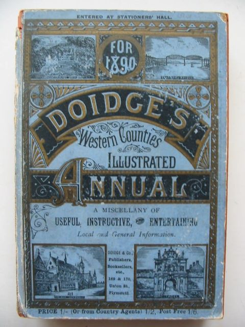 Photo of DOIDGE'S WESTERN COUNTIES ILLUSTRATED ANNUAL 1890 published by Doidge & Co (STOCK CODE: 1201038)  for sale by Stella & Rose's Books