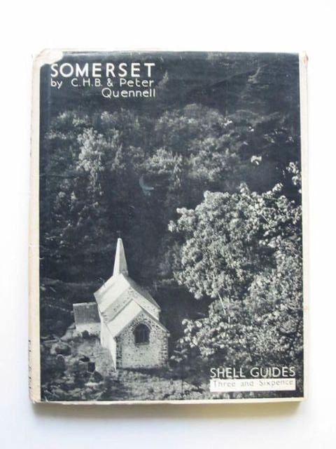 Photo of SOMERSET SHELL GUIDE written by Quennell, C.H.B.<br />Quennell, Peter published by Faber & Faber (STOCK CODE: 1201226)  for sale by Stella & Rose's Books