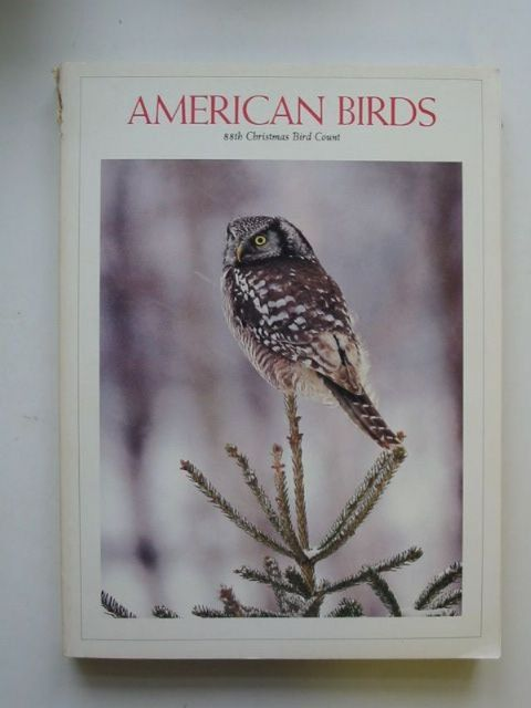 Photo of AMERICAN BIRDS 88TH CHRISTMAS BIRD COUNT published by The National Audubon Society (STOCK CODE: 1201253)  for sale by Stella & Rose's Books