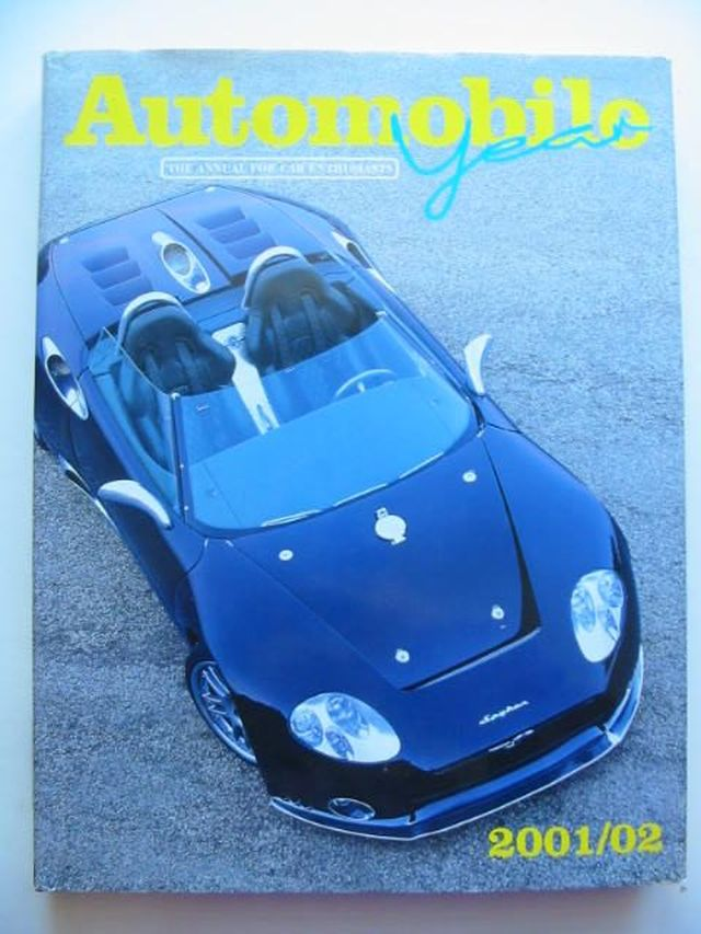 Photo of AUTOMOBILE YEAR No. 49 2001/2002 written by Norris, Ian published by Editions Jr (STOCK CODE: 1202020)  for sale by Stella & Rose's Books