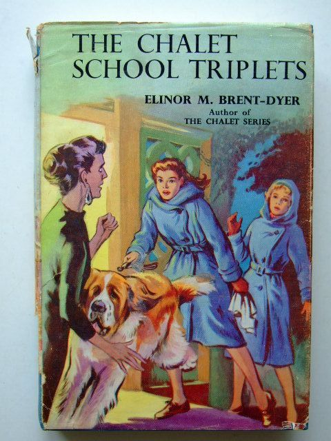 Photo of THE CHALET SCHOOL TRIPLETS written by Brent-Dyer, Elinor M. illustrated by Brook, D. published by W. & R. Chambers Limited (STOCK CODE: 1203935)  for sale by Stella & Rose's Books