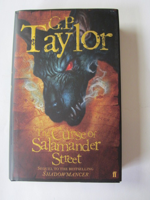 Photo of THE CURSE OF SALAMANDER STREET written by Taylor, G.P. published by Faber & Faber (STOCK CODE: 1204342)  for sale by Stella & Rose's Books