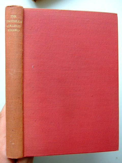 Photo of THE MAGDALEN COLLEGE RECORD 1955 published by Oxford University Press (STOCK CODE: 1204428)  for sale by Stella & Rose's Books