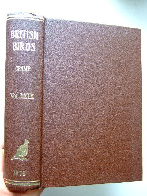 Photo of BRITISH BIRDS VOL. LXIX written by Cramp, Stanley published by H.F. & G. Witherby Ltd. (STOCK CODE: 1204453)  for sale by Stella & Rose's Books