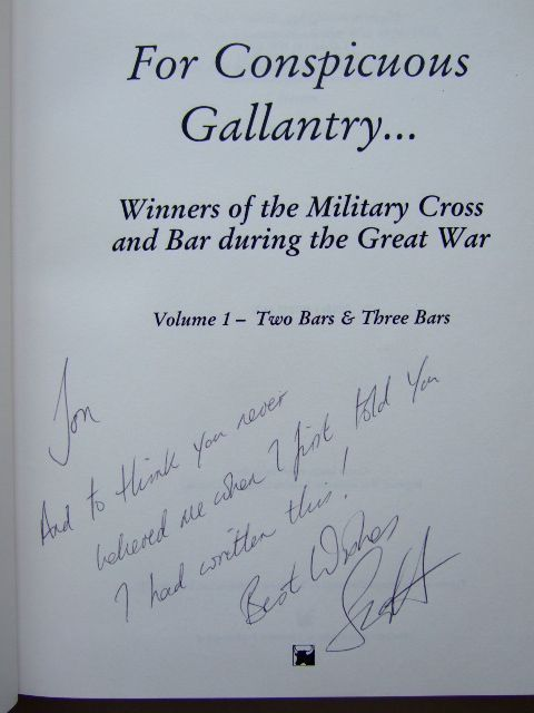 Photo of FOR CONSPICUOUS GALLANTRY VOLUME 1 TWO BARS & THREE BARS written by Addington, Scott published by Matador (STOCK CODE: 1204786)  for sale by Stella & Rose's Books