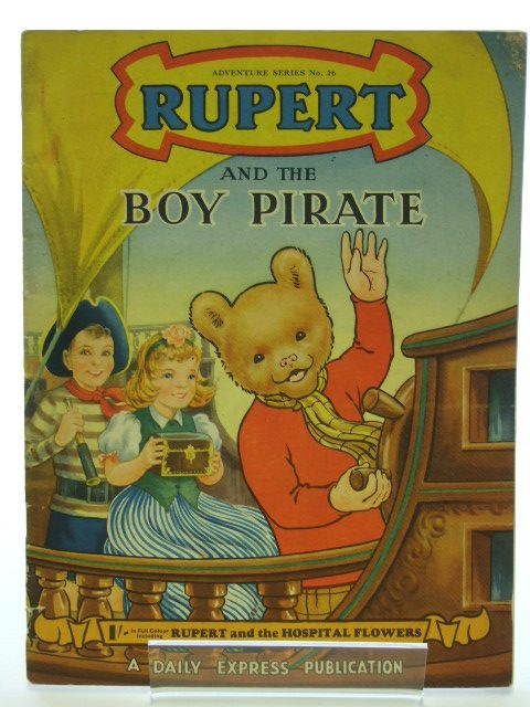 Photo of RUPERT ADVENTURE SERIES No. 16 - RUPERT AND THE BOY PIRATE written by Bestall, Alfred published by Daily Express (STOCK CODE: 1205995)  for sale by Stella & Rose's Books
