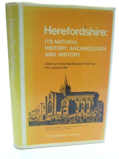 Photo of HEREFORDSHIRE ITS NATURAL HISTORY, ARCHAEOLOGY AND HISTORY published by S.R. Publishers Ltd. (STOCK CODE: 1206376)  for sale by Stella & Rose's Books