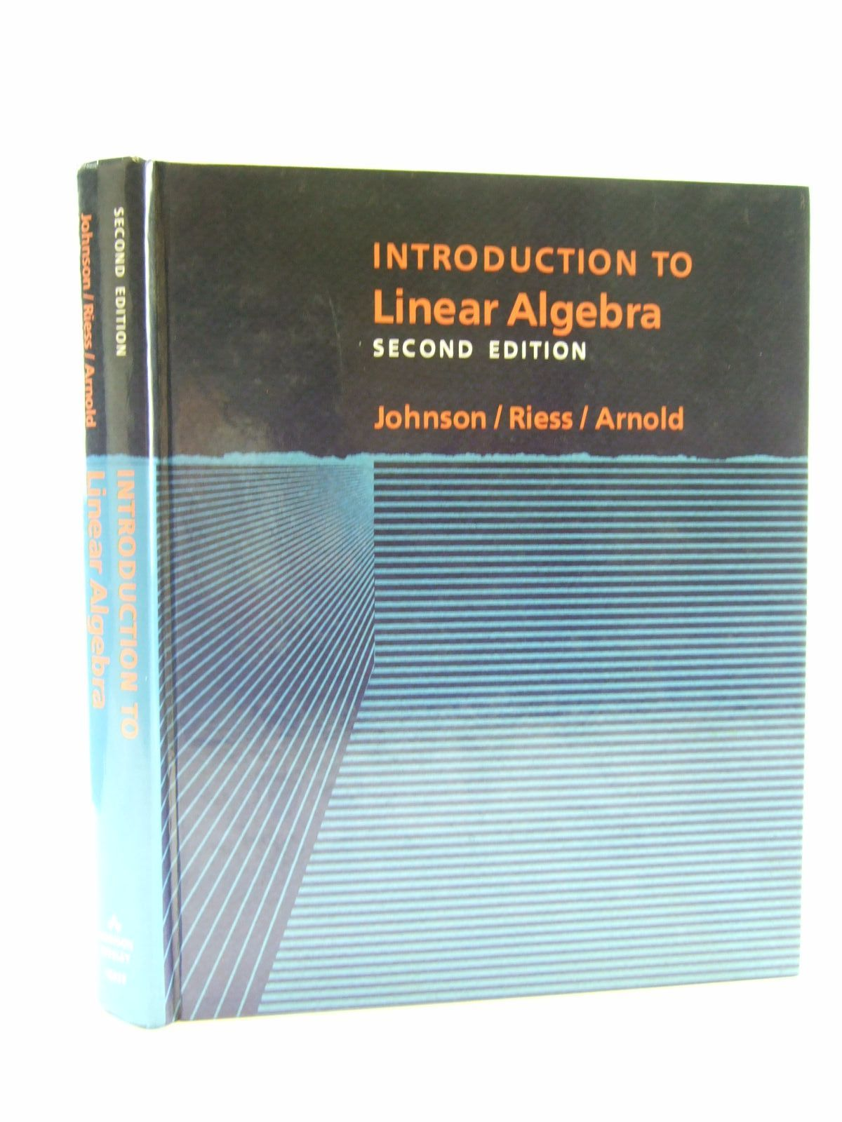 Photo of INTRODUCTION TO LINEAR ALGEBRA written by Johnson, Lee W.<br />Riess, R. Dean<br />Arnold, Jimmy T. published by Addison-Wesley (STOCK CODE: 1206429)  for sale by Stella & Rose's Books