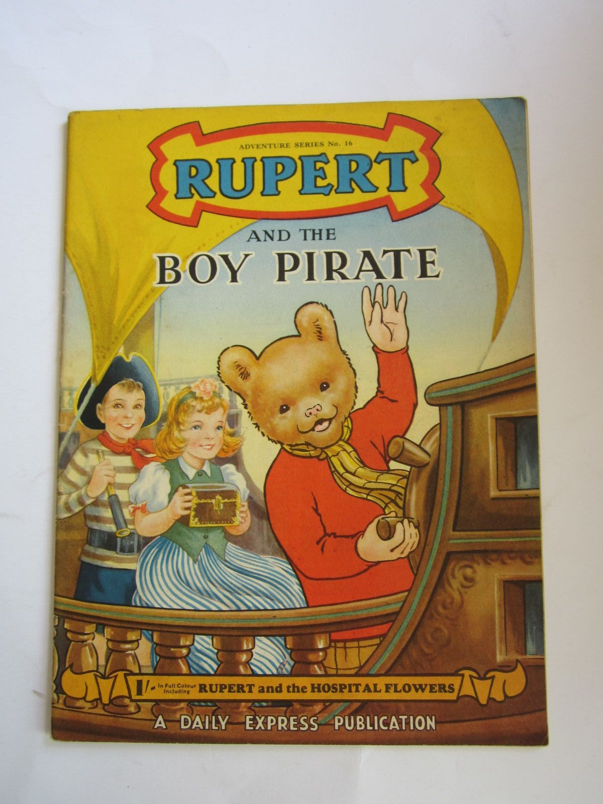 Photo of RUPERT ADVENTURE SERIES No. 16 - RUPERT AND THE BOY PIRATE written by Bestall, Alfred published by Daily Express (STOCK CODE: 1206518)  for sale by Stella & Rose's Books