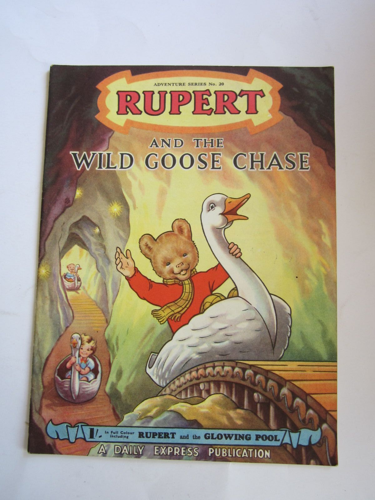 Photo of RUPERT ADVENTURE SERIES No. 20 - RUPERT AND THE WILD GOOSE CHASE written by Bestall, Alfred illustrated by Bestall, Alfred published by Daily Express (STOCK CODE: 1206520)  for sale by Stella & Rose's Books