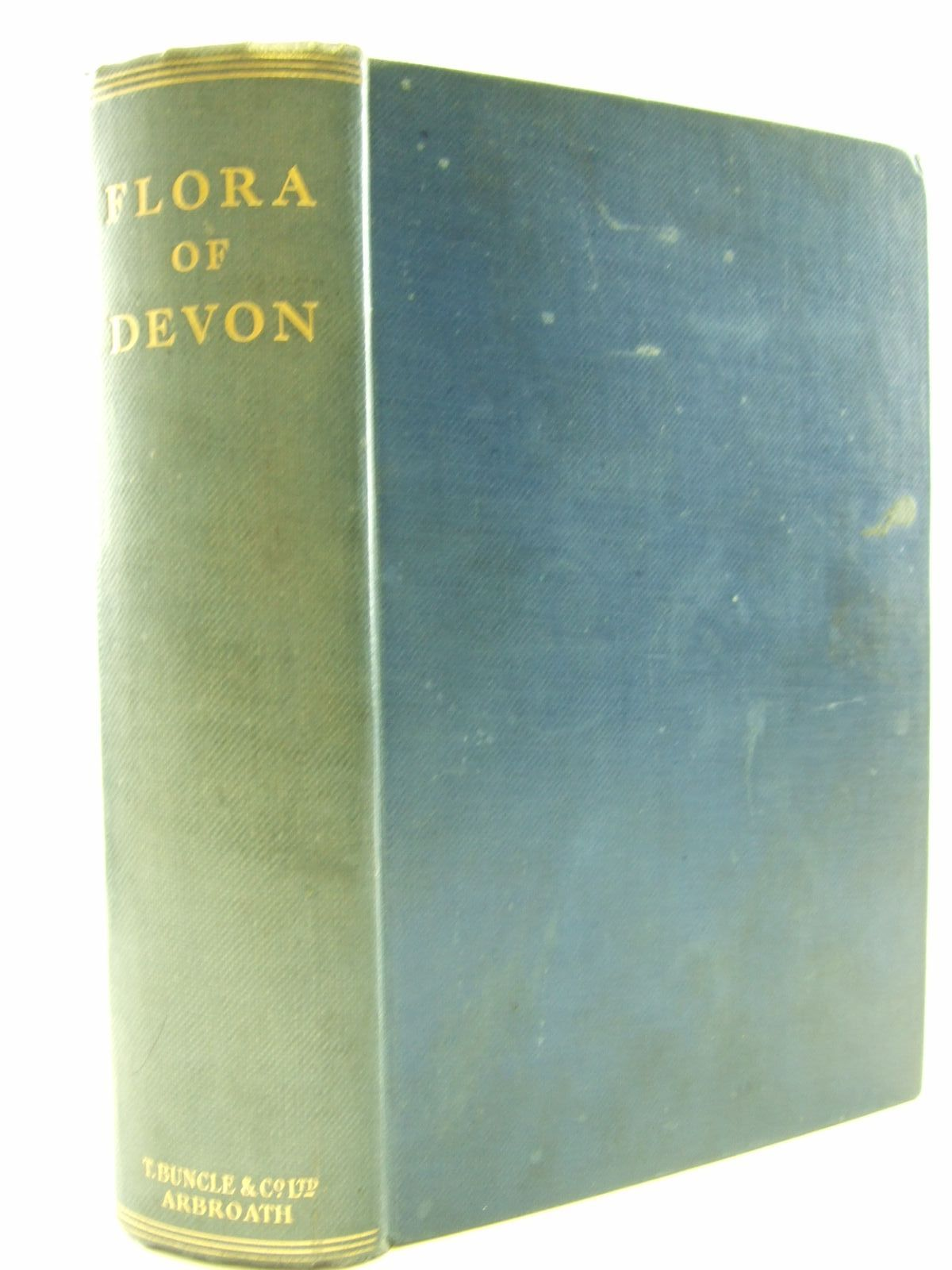 Photo of FLORA OF DEVON written by Martin, W. Keble published by T. Buncle & Co. Ltd. (STOCK CODE: 1206667)  for sale by Stella & Rose's Books