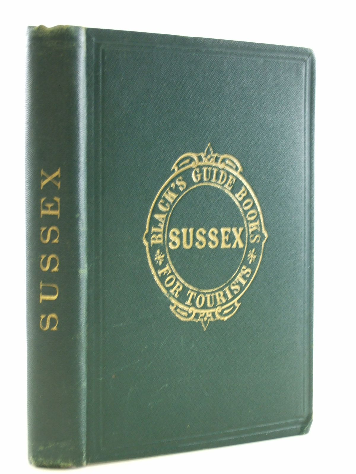 Photo of BLACK'S PICTURESQUE GUIDE TO THE COUNTY OF SUSSEX AND ITS WATERING-PLACES published by Adam & Charles Black (STOCK CODE: 1206783)  for sale by Stella & Rose's Books