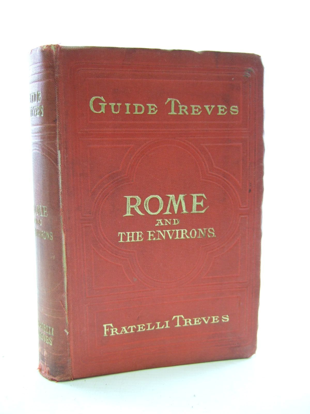 Photo of ROME AND THE ENVIRONS published by Fratellii Treves (STOCK CODE: 1206800)  for sale by Stella & Rose's Books