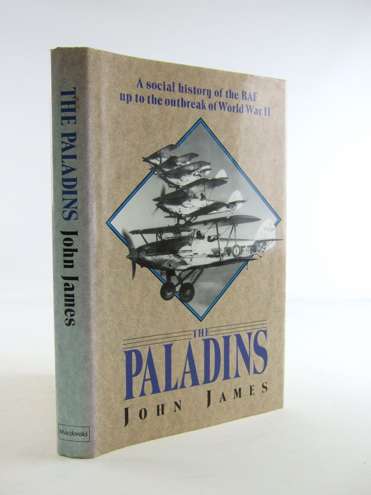 Photo of THE PALADINS written by James, John published by MacDonald (STOCK CODE: 1207015)  for sale by Stella & Rose's Books