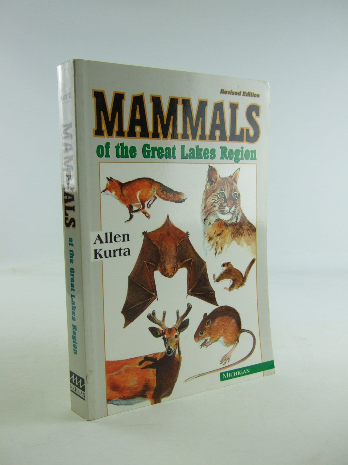 Photo of MAMMALS OF THE GREAT LAKES REGION written by Kurta, Allen illustrated by Schwemmin, Scott A. published by University of Michigan (STOCK CODE: 1207122)  for sale by Stella & Rose's Books