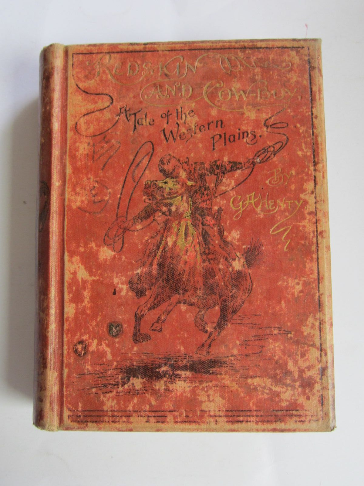 Photo of REDSKIN AND COWBOY written by Henty, G.A. illustrated by Pearse, Alfred published by Blackie & Son Ltd. (STOCK CODE: 1207362)  for sale by Stella & Rose's Books