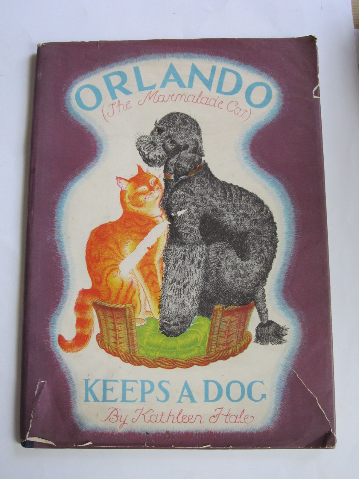 Photo of ORLANDO (THE MARMALADE CAT) KEEPS A DOG written by Hale, Kathleen illustrated by Hale, Kathleen published by Country Life (STOCK CODE: 1207374)  for sale by Stella & Rose's Books