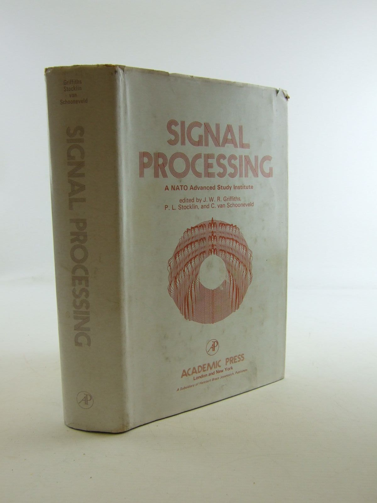 Photo of SIGNAL PROCESSING written by Griffiths, J.W.R.<br />Stocklin, P.L.<br />Van Schooneveld, C. published by Academic Press (STOCK CODE: 1207442)  for sale by Stella & Rose's Books