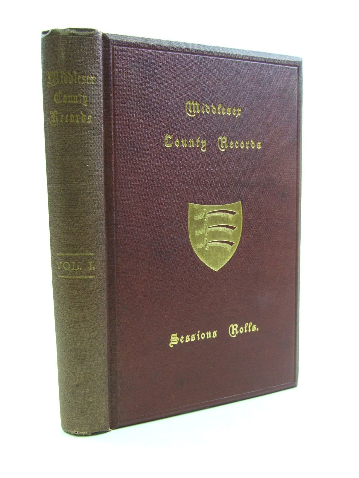 Photo of MIDDLESEX COUNTY RECORDS VOLUME I written by Jeaffreson, J.C. published by The Middlesex County Record Society (STOCK CODE: 1207504)  for sale by Stella & Rose's Books
